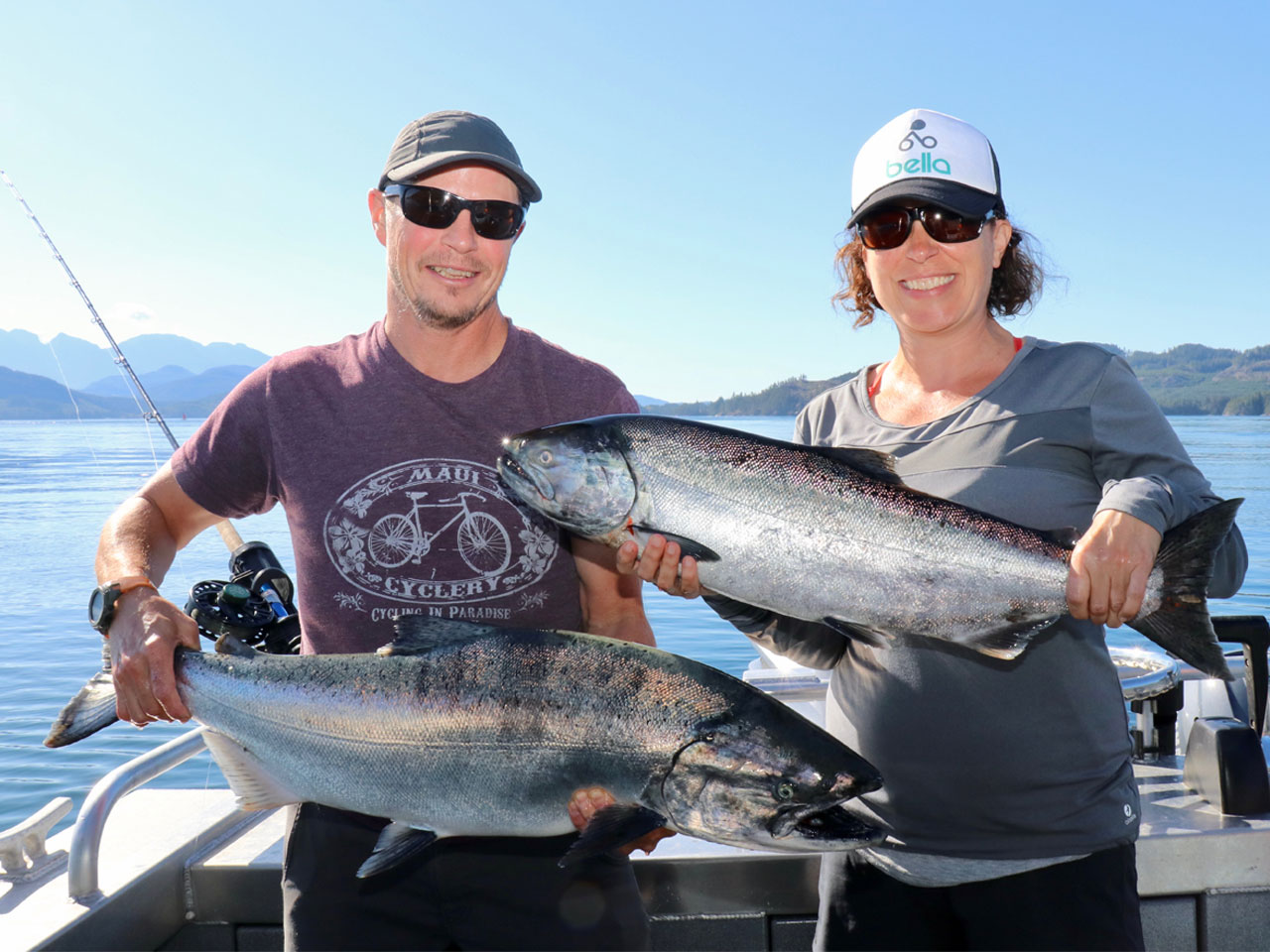 Campbell River Salmon sport fishing specialists