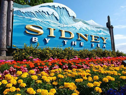 Visit Sidney, BC, Canada on Vancouver Island
