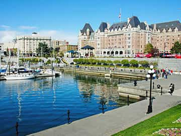 Visit Victoria, BC, Canada on Vancouver Island